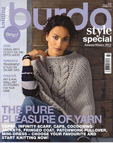 Amazon Burda Style Special Knitting Crochet Magazine Autumn