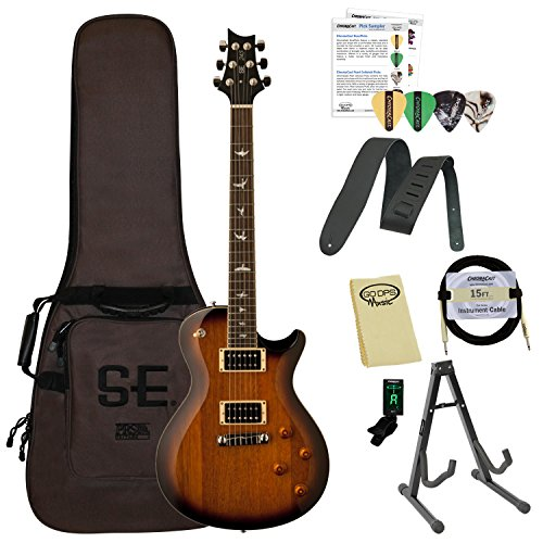 Paul Reed Smith Guitars 245STTS-Kit01 PRS SE 245 Standard Tobacco Sunburst Electric Guitar with Gig Bag & ChromaCast Accessories