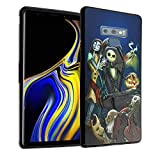 Note 9 Case Nightmare Before Christmas, IMAGITOUCH Anti-Scratch Shock Proof Clear Case Soft Touch Slim Fit Flexible TPU Case Bumper Cover for Note 9 - The Nightmare Before Christmas