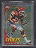 2010 Topps Chrome Dexter Mccluster Chiefs Rookie Football Card #C13