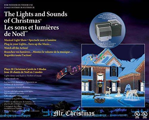 Mr  Christmas Lights And Sounds Of Christmas  Outdoor