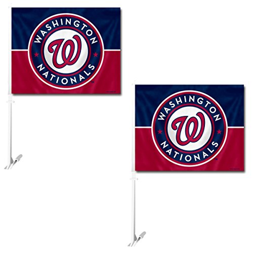 Fremont Die Official Major League Baseball Fan Shop Authentic MLB 2-pack Car Window Flags. Show Team Pride with these 11.5