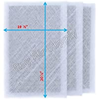 Air Ranger Replacement Filter Pads 21x23 (3 Pack) White