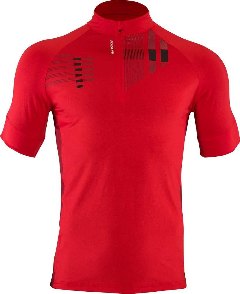 SILVINI Herren Turano Pro MTB Jersey mit Durchgehender Rei/ßverschluss und 1 Hintere Tasche Lockere Passform