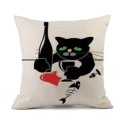 GOVOW Dormitory Decoration Halloween Sofa Bed Home Decoration Festival Pillow Case Cushion Cover for $<!--$2.06-->