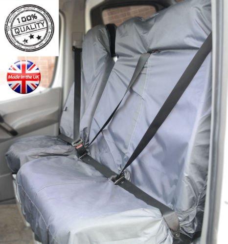 MR E SAVER/© Grey Heavy Duty Waterproof Van Seat Covers MRE21GRY134