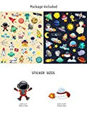 HaokHome S-019 66pcs Universe Rocket Stickers The