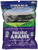 Emerald Cove Silver Grade Pacific Arame (Dried Seaweed), 1.76-Ounce Bags (Pack of 6)