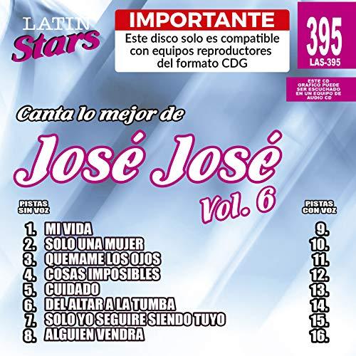 Karaoke Latin Stars 6 by Jose Jose (Cinema Stars 6)
