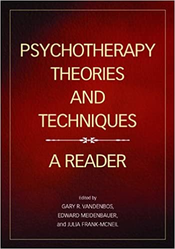 Amazon psychotherapy theories and techniques a reader psychotherapy theories and techniques a reader 1st edition negle Images