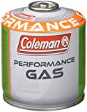 Coleman C300 Performance Screw On Gas Cartridge, for Camping Stoves, Compact and Resealable Canister