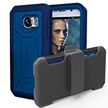 Original PANTERA® Case & Belt Clip for Samsung Galaxy S6 - Blue (By Encased)