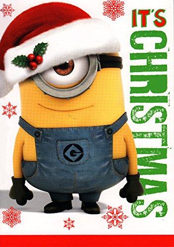 Despicable me Minion Its Christmas Sound card: Amazon.co.uk ...