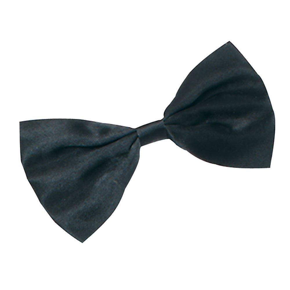 Bow-Tie Black Satin bristol novelty BA559 ABRBA559