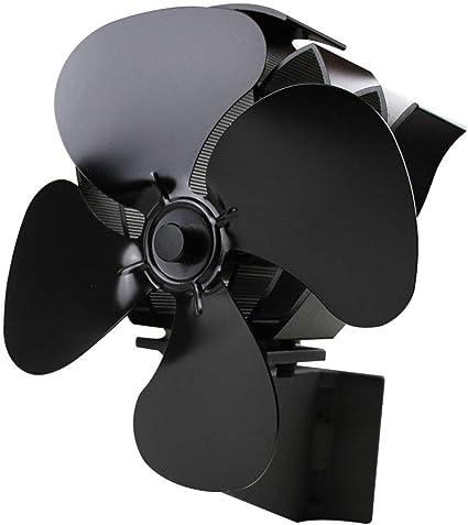 rryilong Ecofan Ventilateur Poêle Silencieux Efficace