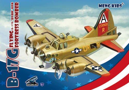 Meng Kids B-17G Flying Fortress - Plastic Model Kit Q Edition ()