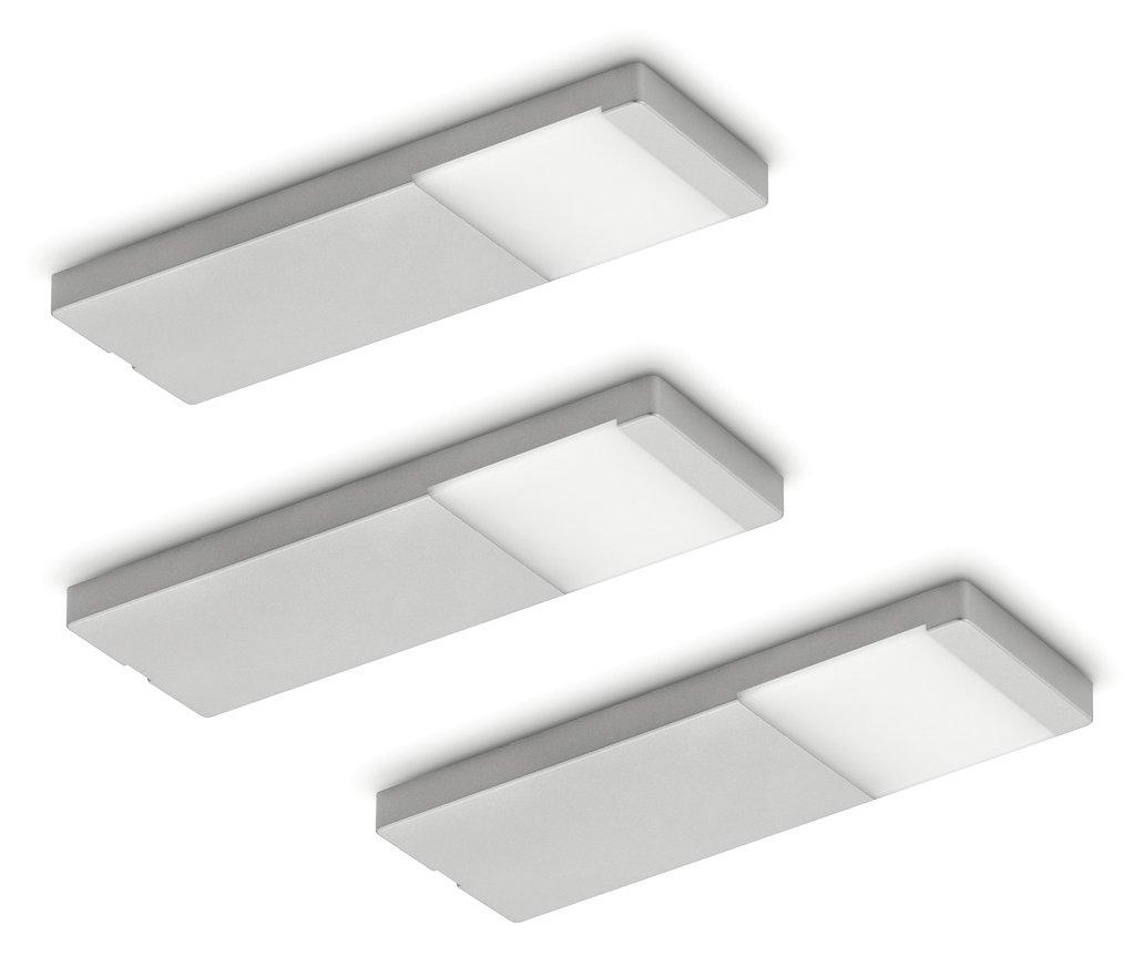 NABER NABER NABER Yolo Neo LED Set-3 Unterbauleuchte   Edelstahlfarbig   3 Watt   Neutralweiß 1d69e7