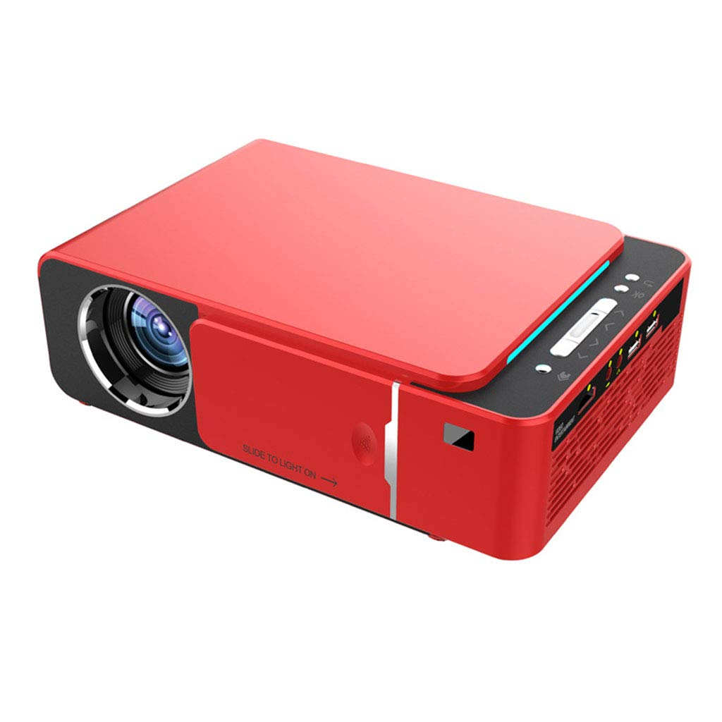 JIANGNAN Mini proyector, 2000 Lumen LED, Altavoces duales ...