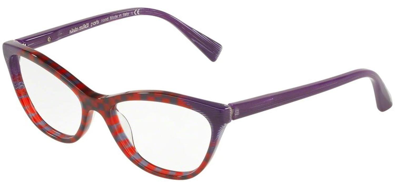 Eyeglasses Alain Mikli A 3067 003 PURPLE DAMIER//POINTILLE VIOLET
