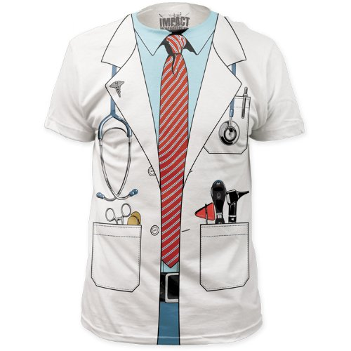 Doctor Costume Tee (slim fit) T-Shirt Size XXL