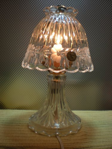 princess house crystal lamp - 1