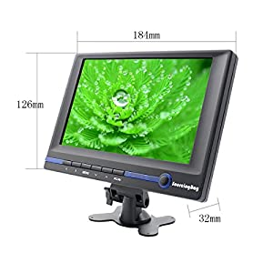 Sourcingbay 7 Inch HD TFT LCD Monitor 800x480 16:9 Built-in Speaker with HDMI / VGA / AV Audio Input for Car / Computer / Mini PC