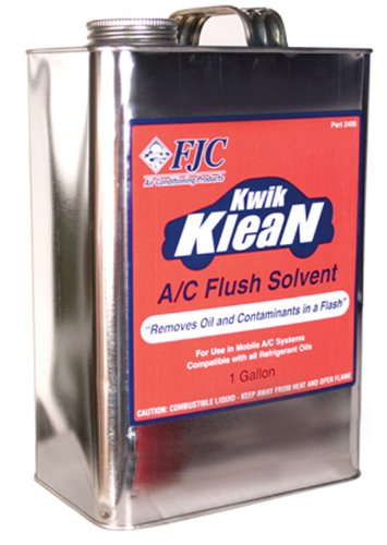 - Kwik Klean A/C Flush - gallon