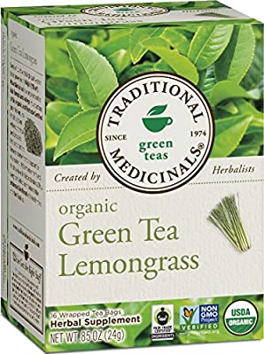 Traditional Medicinals Organic Green Tea Hibiscus Tea