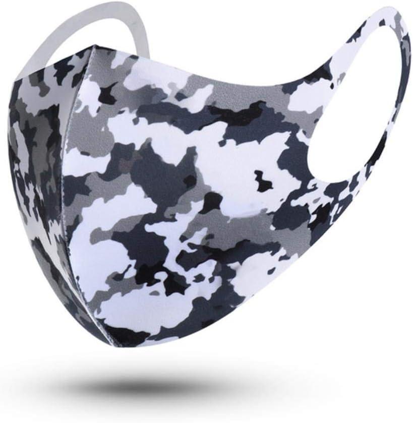 GYJWPANZZ Máscara Algodón Mascara 1 Unid Mascarillas De Esponja Reutilizables Lavables Unisex Máscara De Protección Facial Antipolvo, Adulto-2
