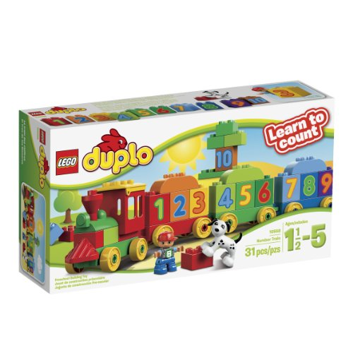 (LEGO DUPLO My First Number Train Building Set 10558)