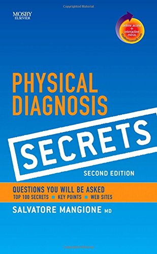 Physical Diagnosis Secrets with Student Consult Online Access, 2nd Edition from Mangione, Salvatore, M.D.