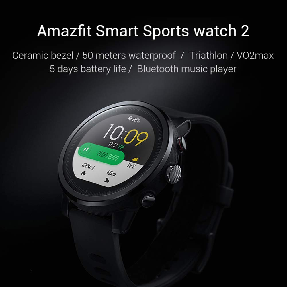 Huami Amazfit 2 Amazfit Stratos Pace 2 Smart Watch Men con ...