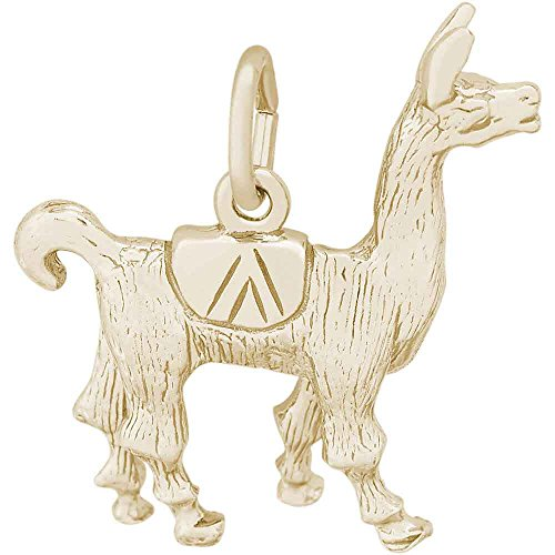 Rembrandt Charms Llama Charm, 14K Yellow Gold by Rembrandt Charms