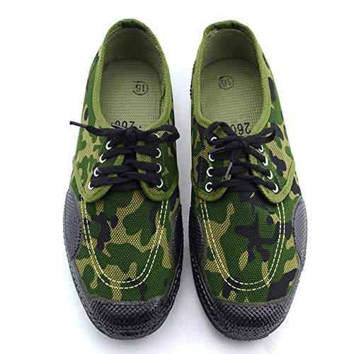 Rcnryoutdoor Desgaste Bajo Zapatos 37 Antideslizante Protección Sudoración Camuflaje Sitio De Deporte Woodland Laboral B rrqYa