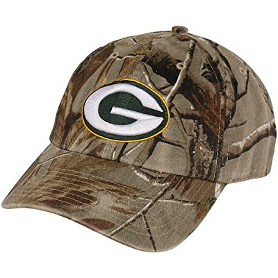NFL '47 Brand Green Bay Packers Clean Up Adjustable Hat - Realtree Camo - by Twins Enterprise Inc