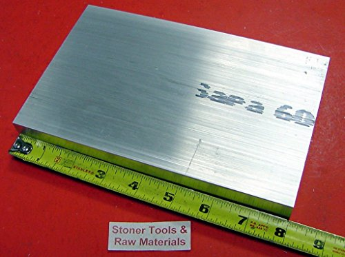 14 Pieces 1-1/2'' X 5'' ALUMINUM 6061 FLAT BAR 8'' long Solid T6 Plate Mill Stock by Stoner Metals