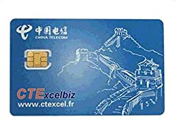 China Telecom CTExcelbiz International Europe GSM WCDMA Prepaid Mobile Phone Nano Sim Card for iPhone 4s/5/5s/6/6s Plus