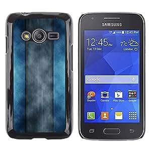 TopCaseStore / la caja del caucho duro de la cubierta de protección de la piel - Abstract Stripes - Samsung Galaxy Ace 4 G313 SM-G313F