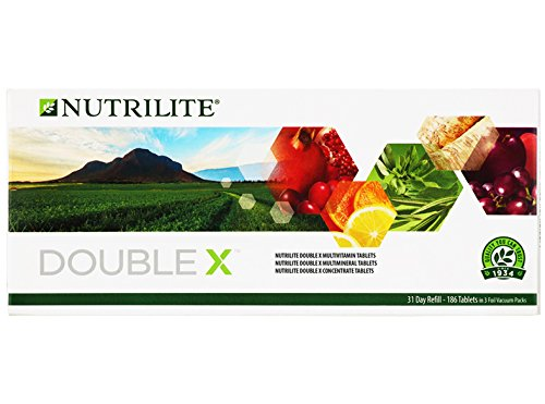 Supply 31 Day (1 x Amway Nutrilite Double X Refill Multivitamin/Multimineral/Concentrate Asia Packaging ( 31-day supply ))