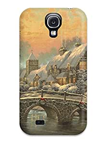 New Style 2938963K16737698 Defender Case For Galaxy S4, Artistic Pattern