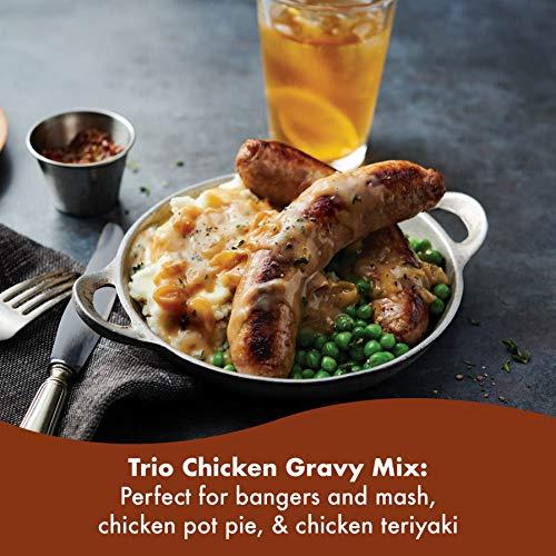 Trio Chicken Gravy Mix 22.6 oz (Pack of 8)