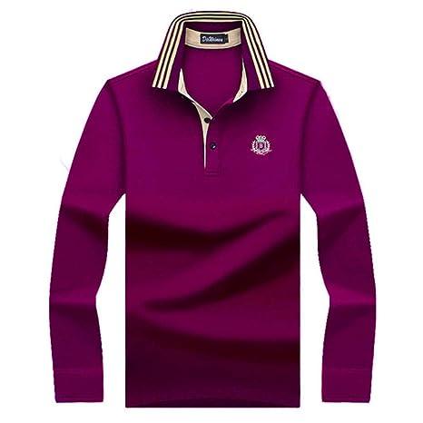 NISHIPANGZI Classic Cómodos Hombres Hombres Hombres Camiseta Polo ...