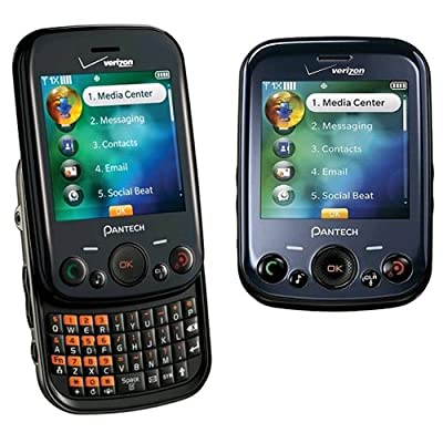 Verizon Pantech Jest TXT8040 Replica Dummy Phone/Toy Phone, Black: Toys & Games [5Bkhe1207079]