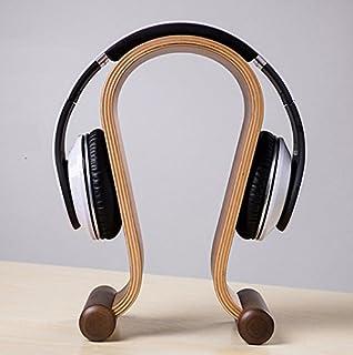 Soporte EVST en madera para todo tipo de cascos o auriculares con diadema
