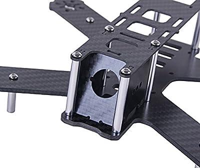 Crazepony H180 Carbon Fiber FPV Race Quadcopter Frame like QAV180 QAV250 etc