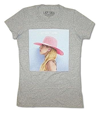 Lady Gaga Joanne Womens Heather Grey T Shirt
