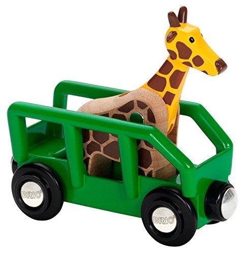 Brio WORLD giraffe and wagon 33724