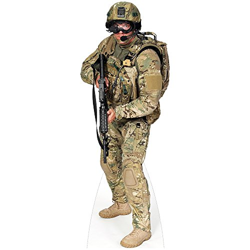 Soldier Cut Out - H37014 Soldier Army Cardboard Cutout Standup