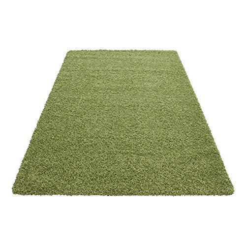 Hochflor Shaggy Teppich für Wohnzimmer Langflor Pflegeleicht Schadsstof geprüft 3 3 3 cm Florhöhe Oeko Tex Standarts Teppich, Maße 160x230 cm, Farbe Creme B0178SC306 Teppiche 8543d0