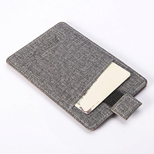 Credit ID Holder Bifold Men Unisex Wallet Gray Hotsellhome Women Pockets Purse Coffee New Business for Linen Card w8UqAYX